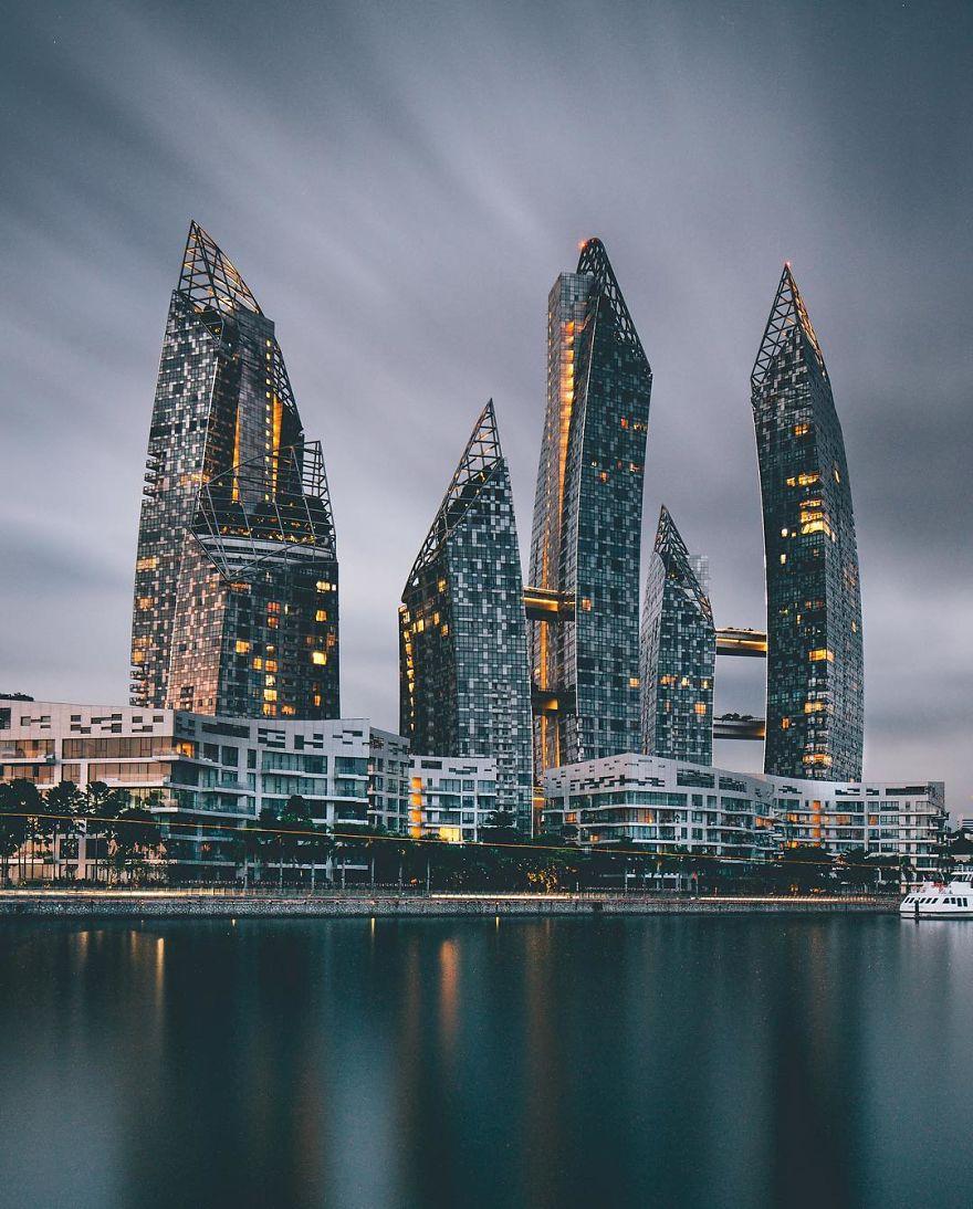 paesaggi delle città asiatiche