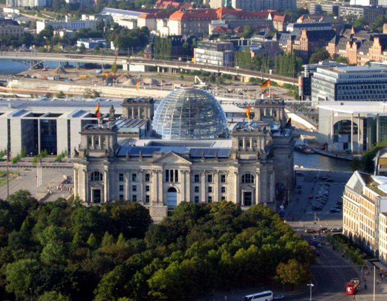 palazzo del Reichstag, cupola di vetro