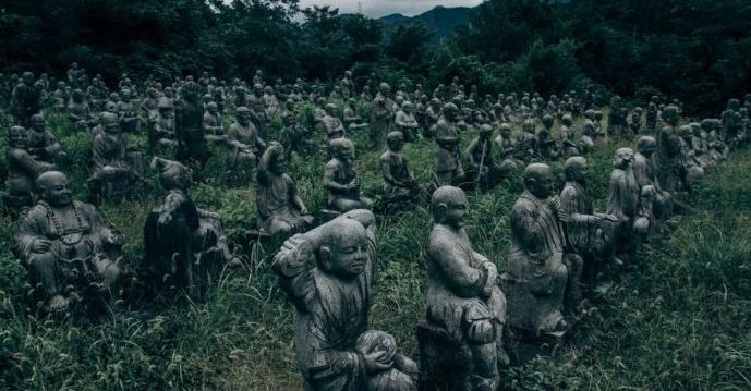 statue del parco Fureai Sekibutsu no Sato