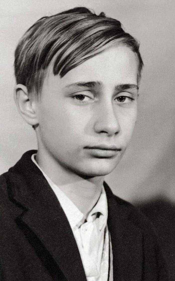 Vladimir Putin da bambino, 1966