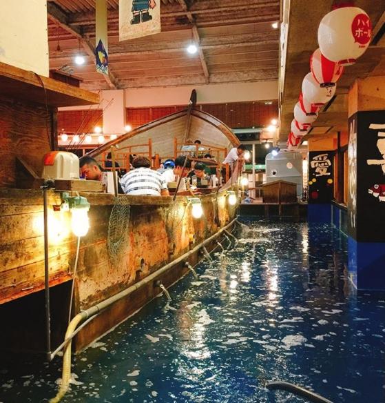 ristorante dove devi pescare il pesce