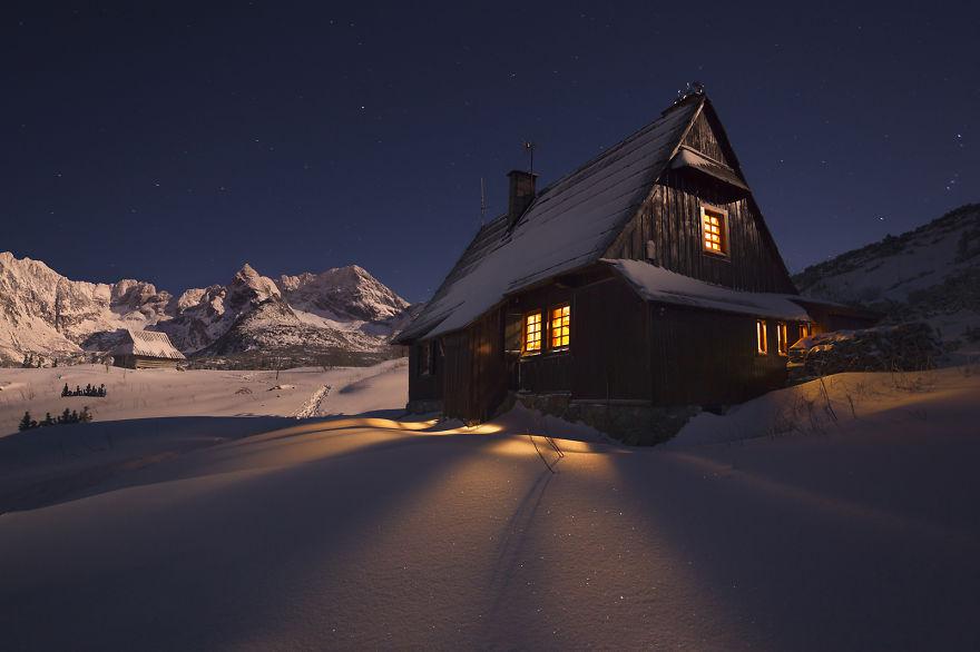 inverno montagne polacche