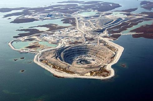 Diavik miniera di diamanti