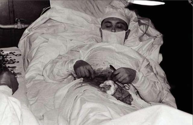 Leonid Rogozov, che si operò da solo di appendicite