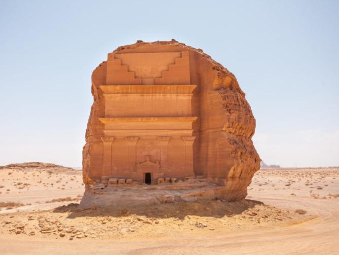 Qasr al-Farid il castello solitario