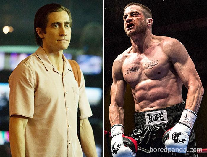I muscoli di  Jake Gyllenhaal per Southpaw