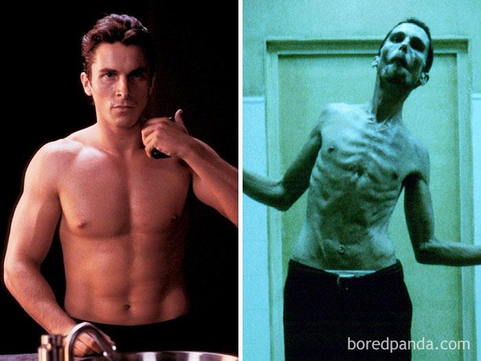 La perdita di peso di Christian Bale per L'uomo senza sonno