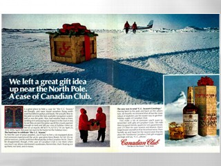 Canadian Club ha nascosto 25 casse di whiskey