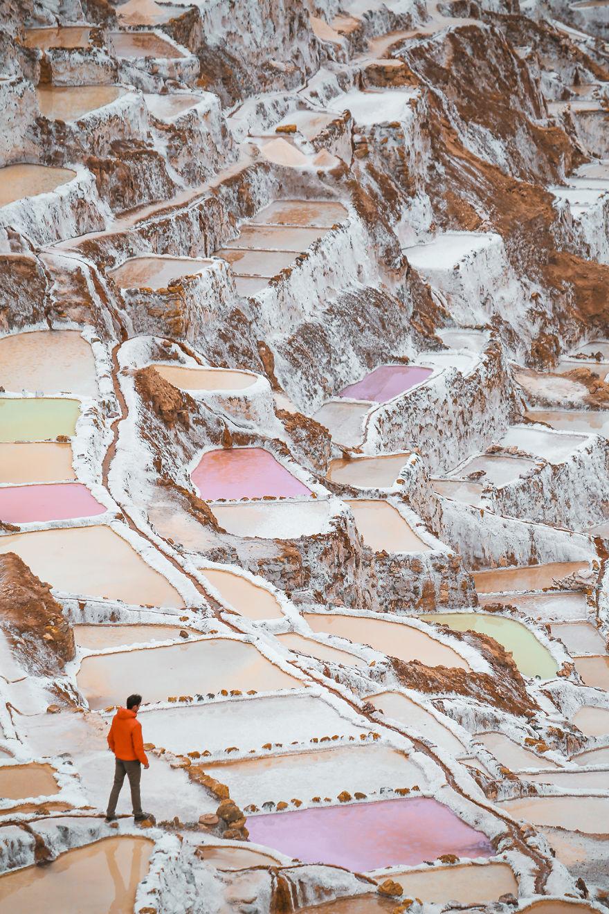 saline di maras perù