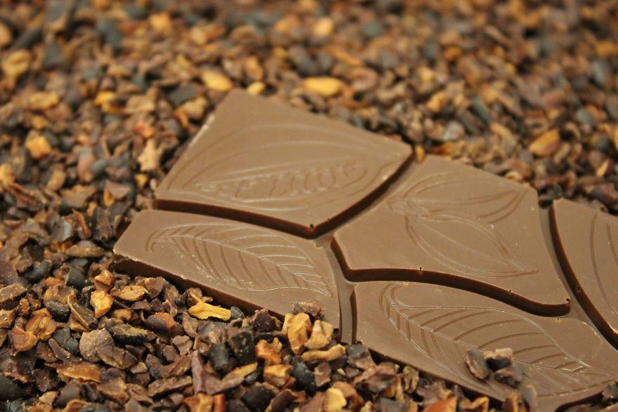 Ed ecco la tavoletta di cioccolato pronta per essere mangiata!