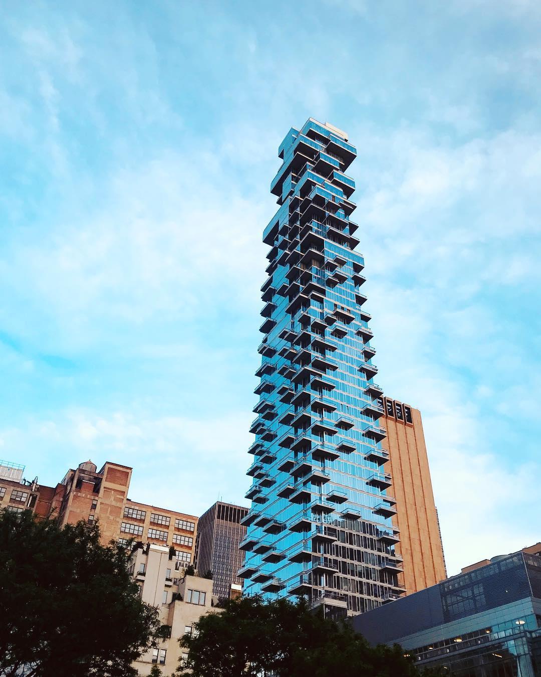 La Jenga Tower a Tribeca, New York