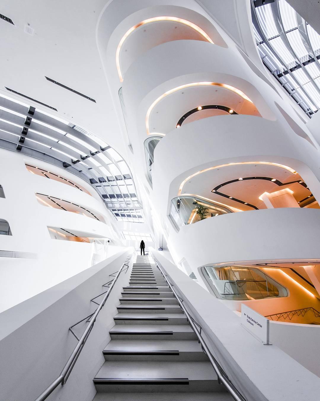 La futuristica università dell'Austria
