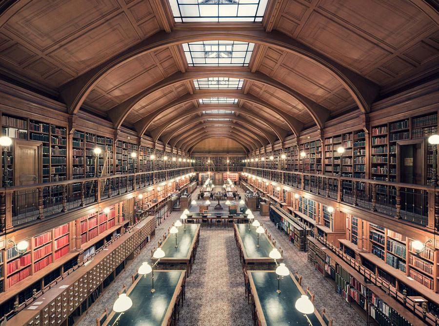 biblioth que de l 39 hotel de ville de paris parigi 1890. Black Bedroom Furniture Sets. Home Design Ideas