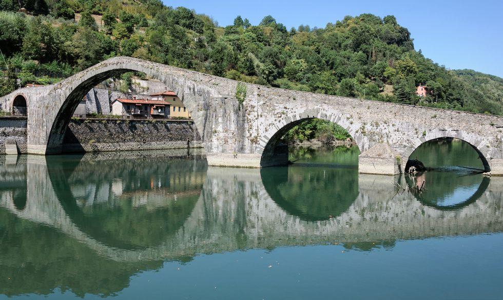 Ponte della Maddalena di Borgo a Mozzano