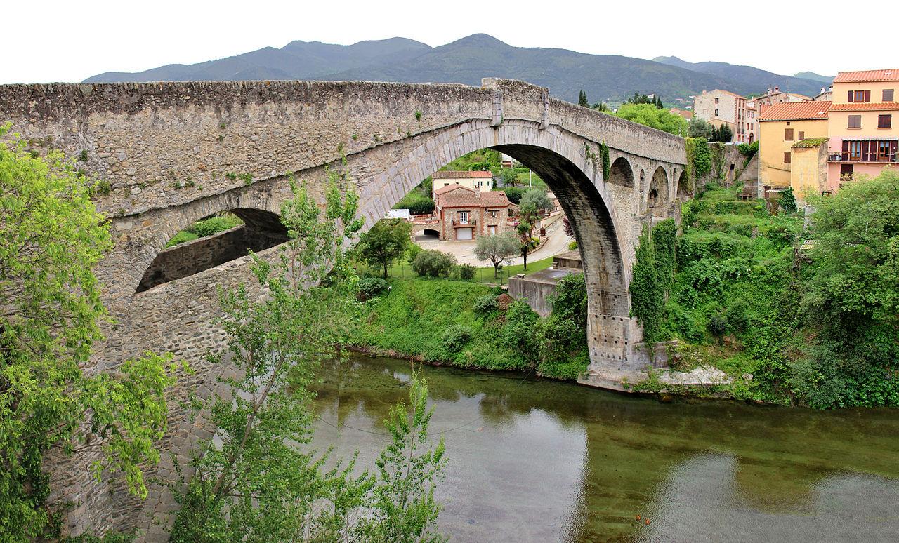 Pont du Diable di Céret, Francia