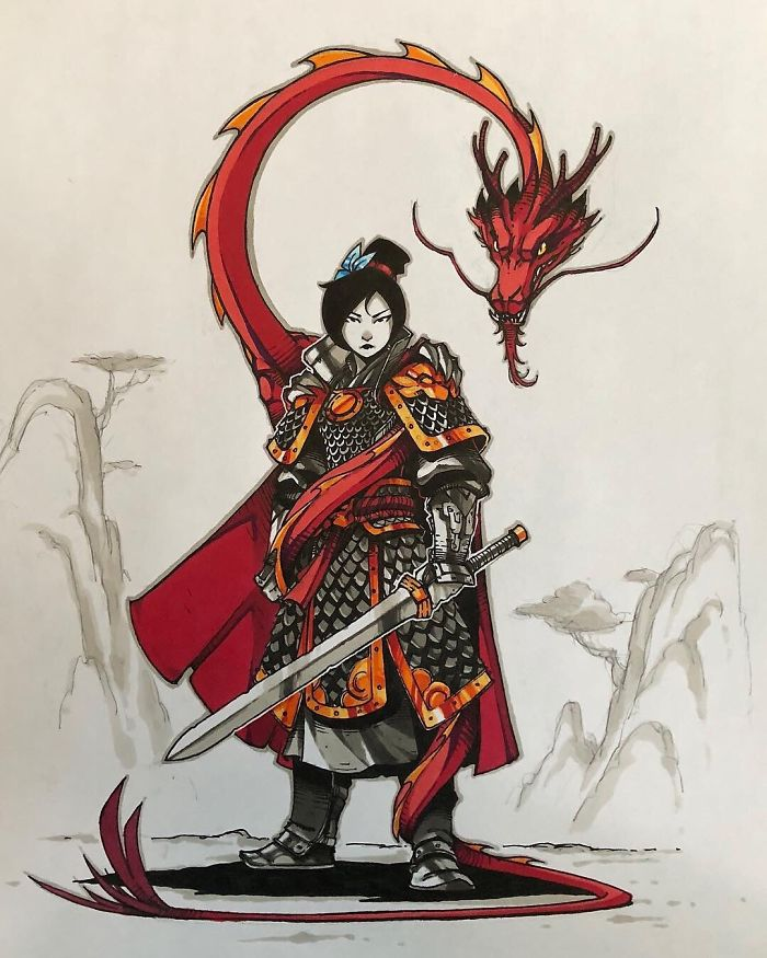Mulan e Mushu