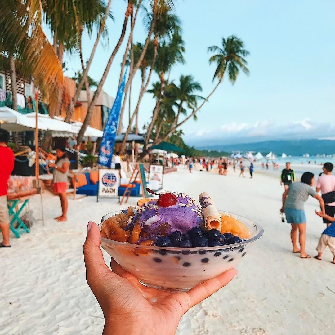 Halo-halo a Boracay, Filippine