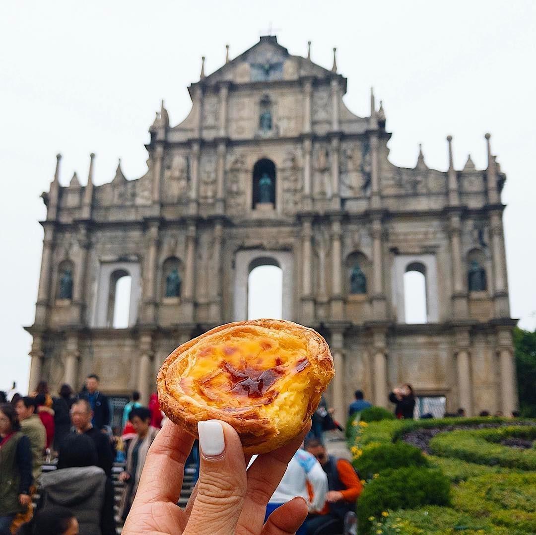 Crostatina portoghese alla crema, Macau, Cina