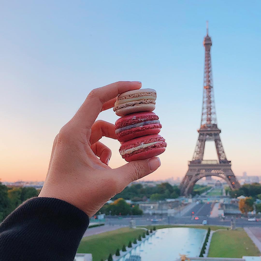 Macarons a Parigi