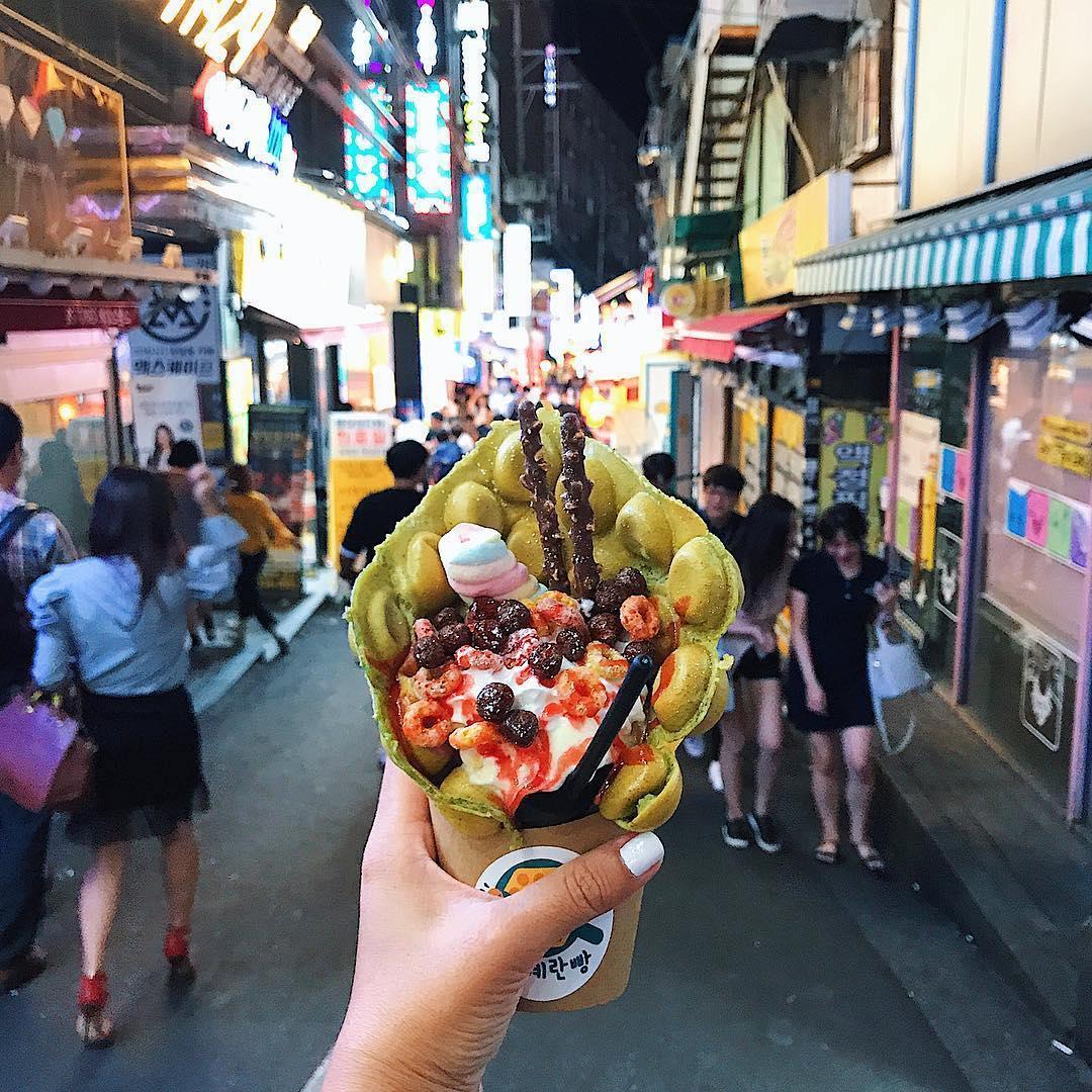 Hong Kong Waffle a Seoul, Sud Corea