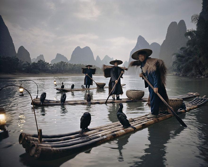 Cormorani Yang Shuo, Cina