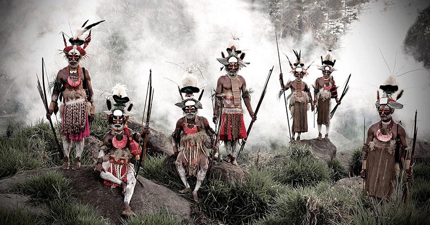 Tribù Likekaipia, Montagne Jalibu negli altopiani occidentali della Papua Nuova Guinea