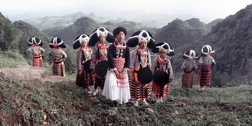 Villaggio Miao, Liu Pan Shui, Gui Zhou, Cina