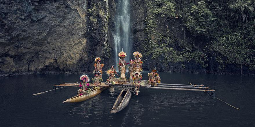 Clan Uramana, Tufi, Papua Nuova Guinea