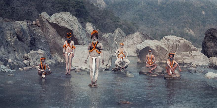 Sul Gange, Città sacra di Haridwar, India