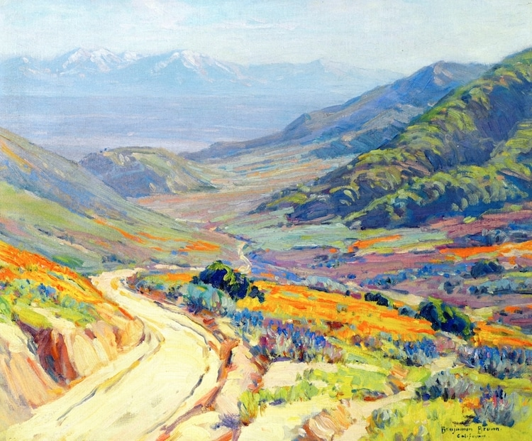 Benjamin Chambers Brown, Poppies, Antelope Valley