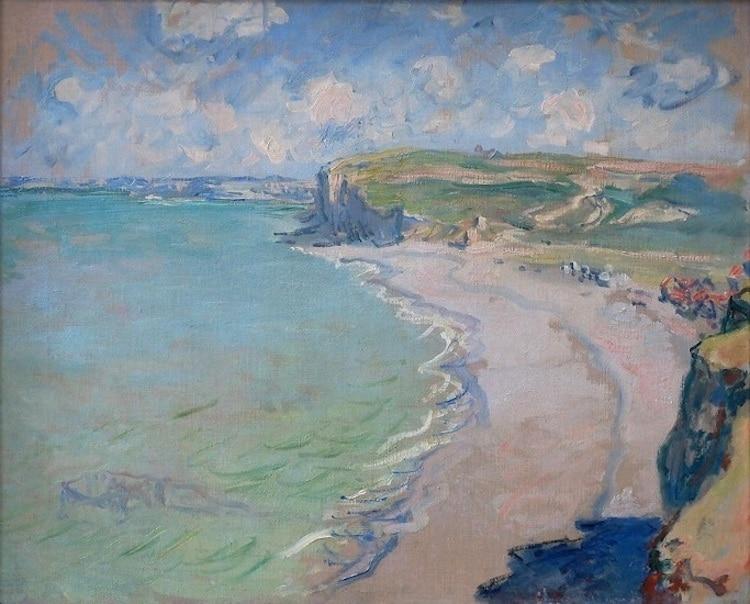 Claude Monet, La spiaggia di Pourville