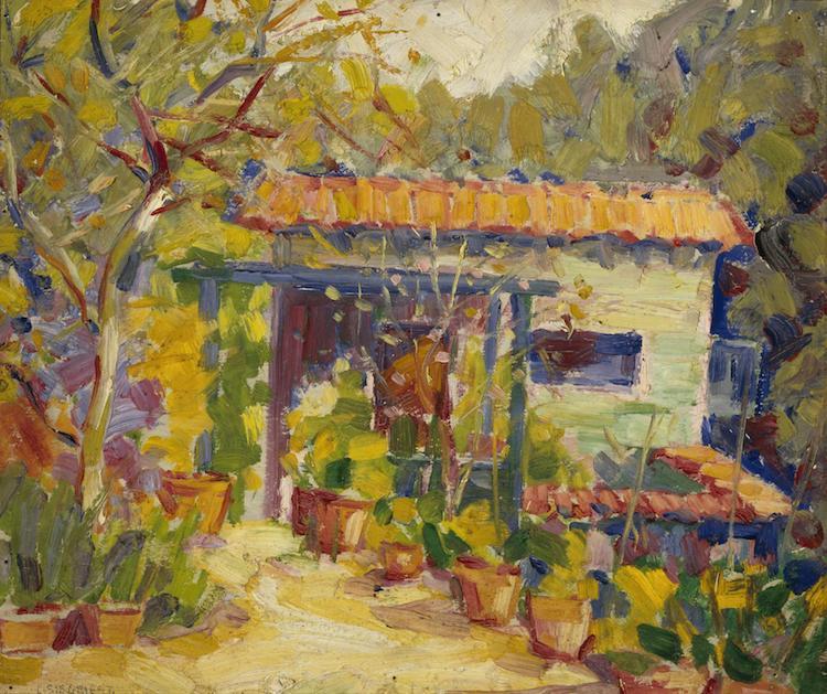 "Louis Siegriest, ""Gile's House,"" 1921"
