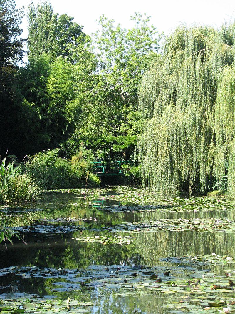 Il giardino di Claude Monet a Giverny