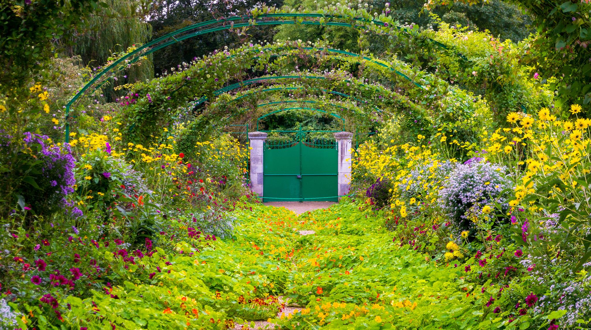 I fiori al giardino di Giverny
