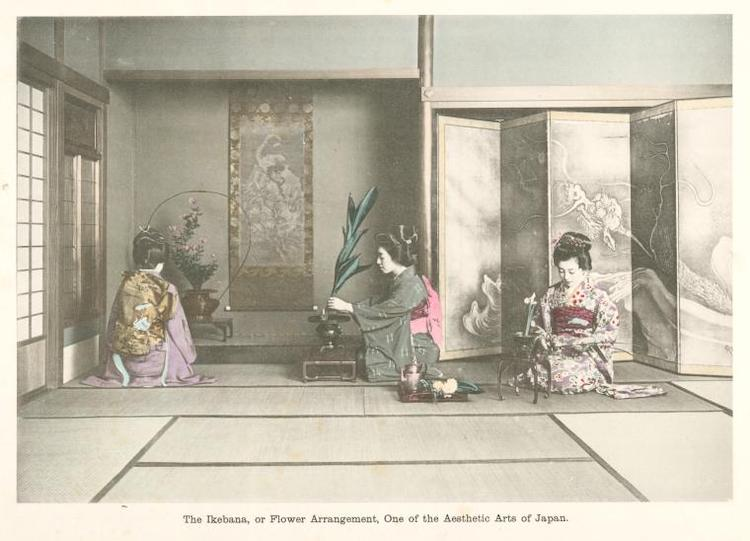 Ikebana, The New York Public Library Digital Collections. 1910 – 1919