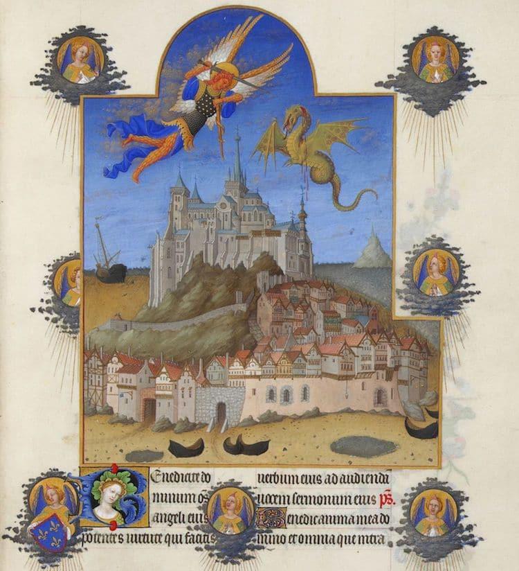 """""""Très Riches Heures du duc de Berry,""""  1411 - 1416 (Photo: Wikimedia Commons Public Domain)"""
