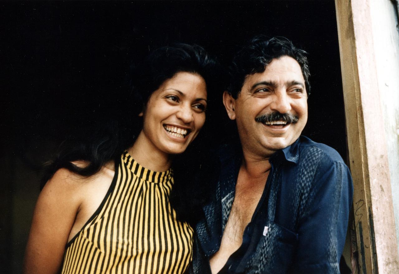 Chico Mendes e sua moglie