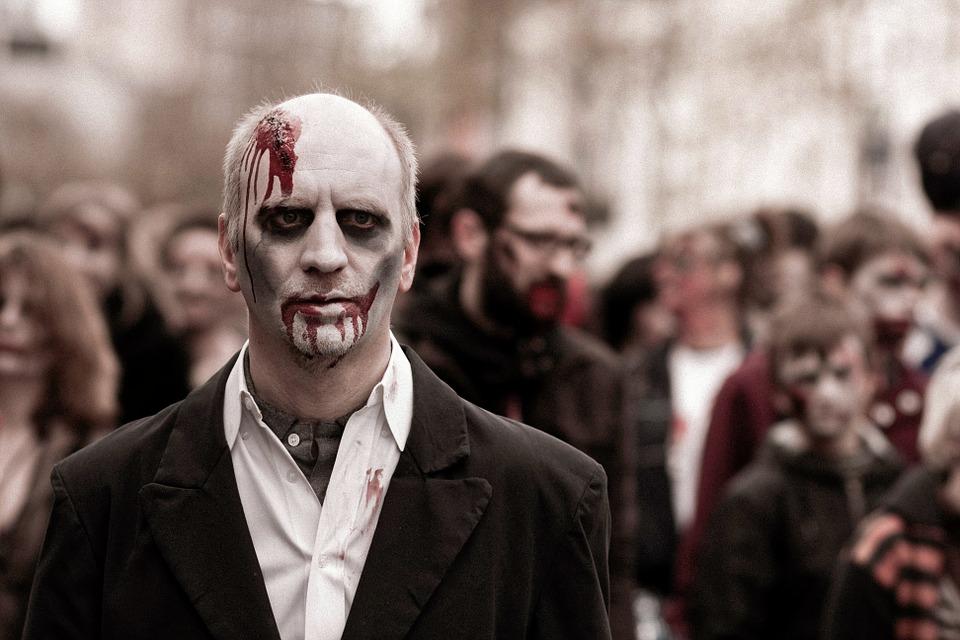 Zombie attore