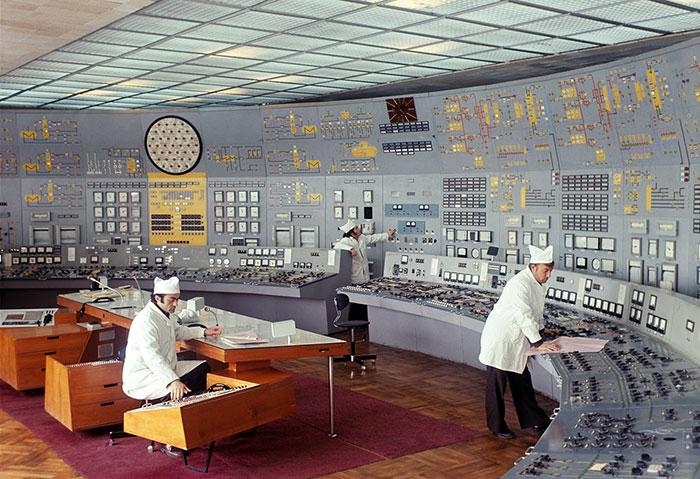 sale di controllo sovietiche
