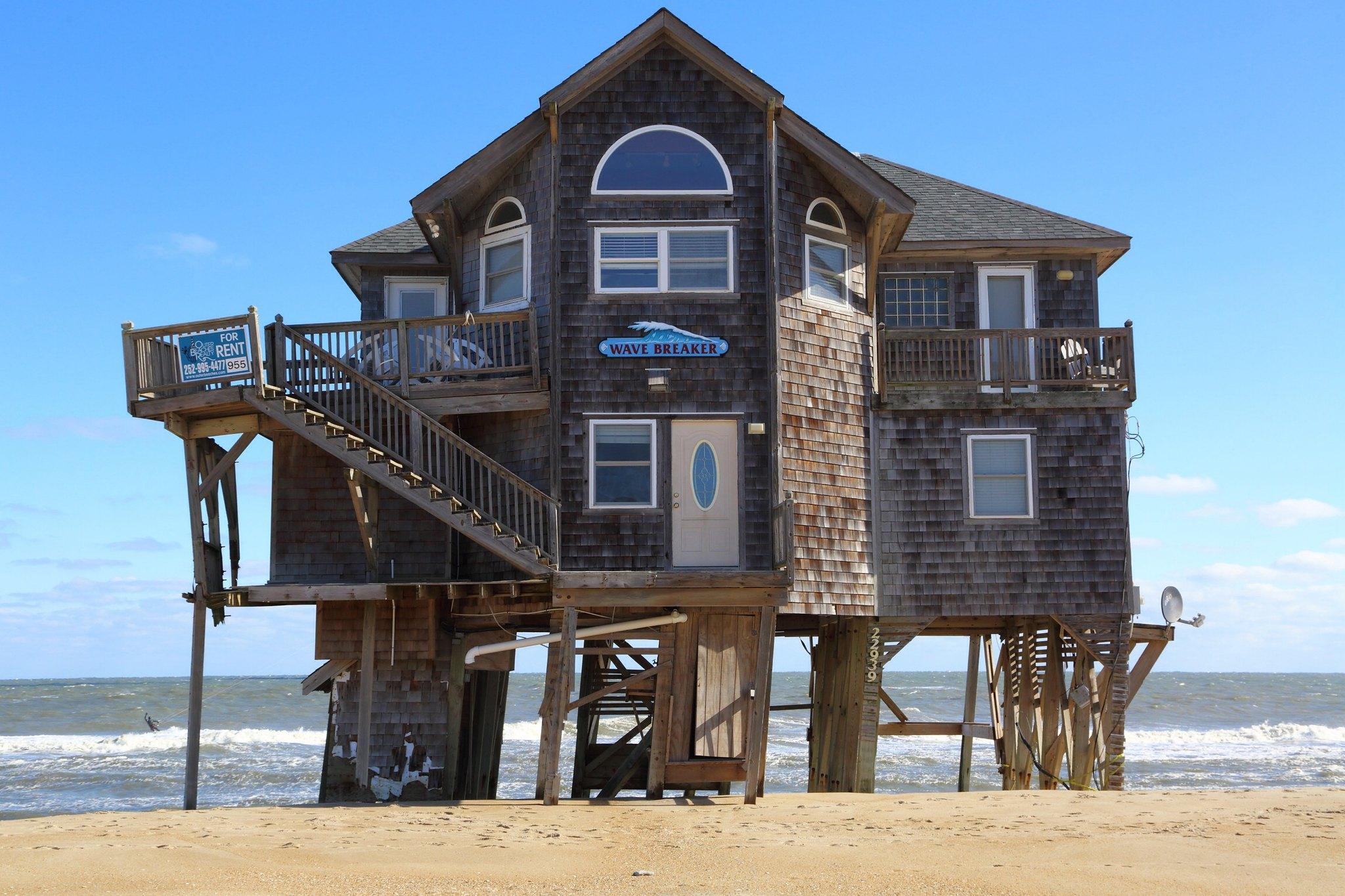Wave Breaker House a Mirlo Beach, North Carolina