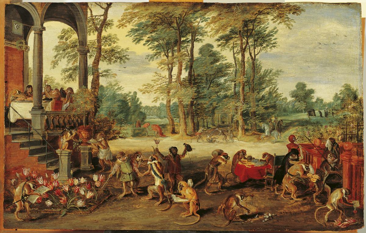 Jan Brueghel il giovane: Satira sulla tulipomania