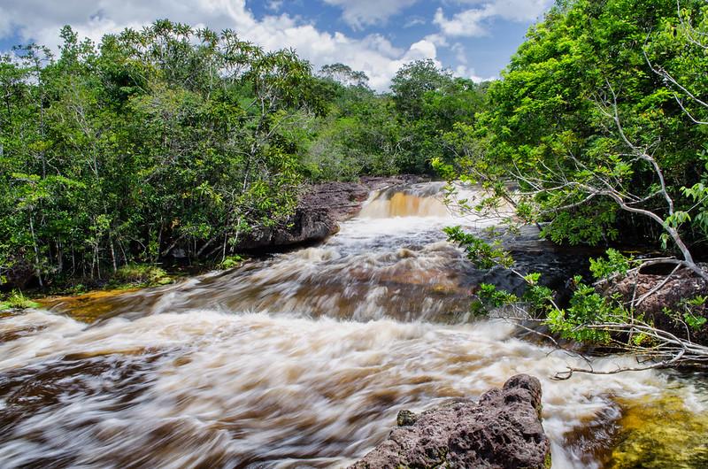 Cascate nel Rio delle Amazzoni