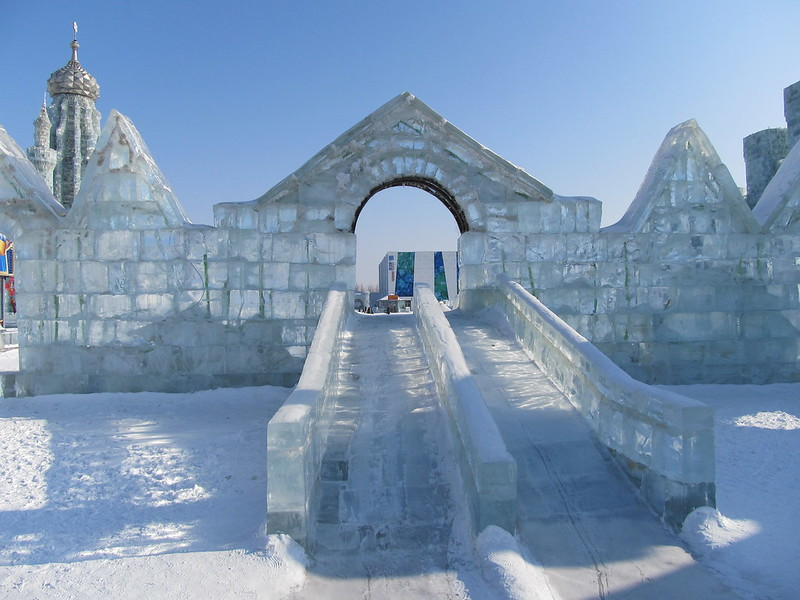 Festival di Sculture di Ghiaccio e Neve di Harbin