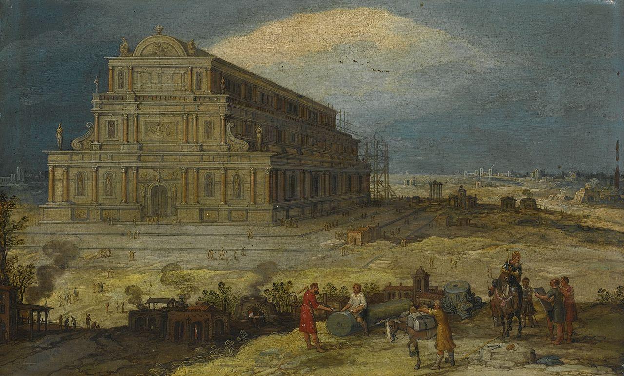 Tempio di Artemide (Hendrik van Cleve (c. 1525–1590/95))