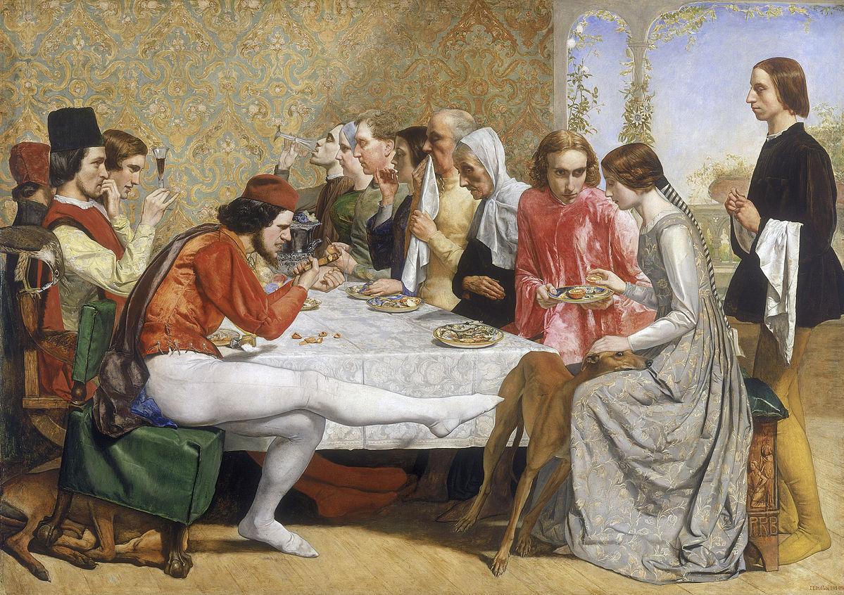 John Everett Millais, Isabella (1849)