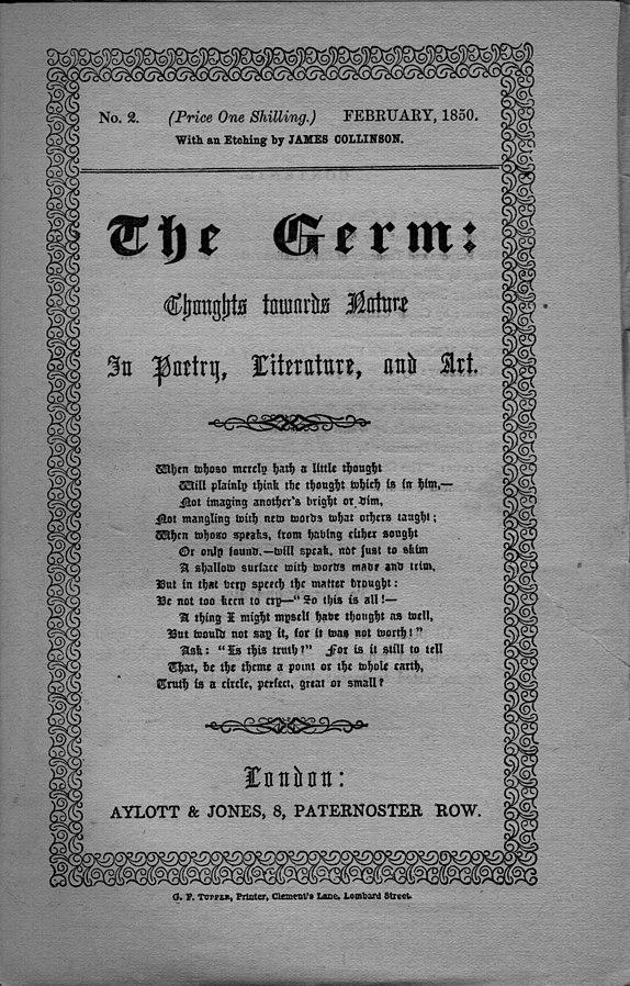La seconda uscita di The Germ