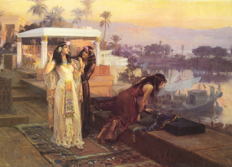Cleopatra on the Terraces of Philae, Frederick Arthur Bridgman
