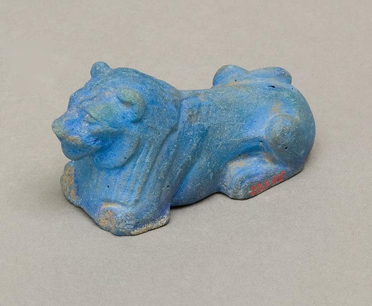 La figura di un leone. circa. 1981–1640 a.C. (Foto: Met Museum, Rogers Fund ed Edward S. Harkness Gift, 1922. // PD)
