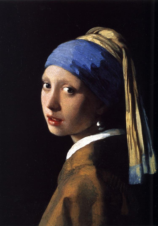 Ragazza con l'orecchino di perla, Johannes Vermeer, circa 1665 (Wikimedia // PD)