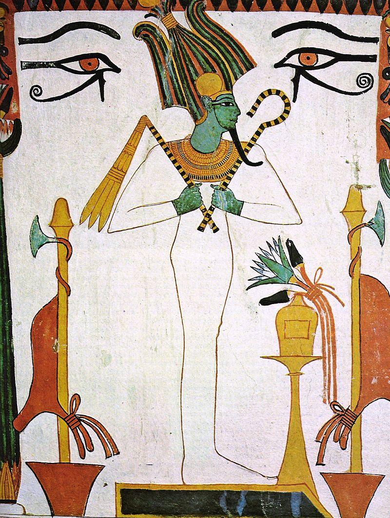 Rappresentazione di Osiride